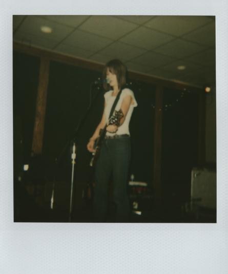 Hatfield, Green Room, Iowa City, August 2002.